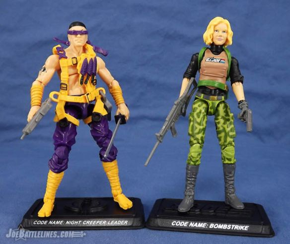 G.I. Joe FSS 3 Bombstrike Night Creeper Leader