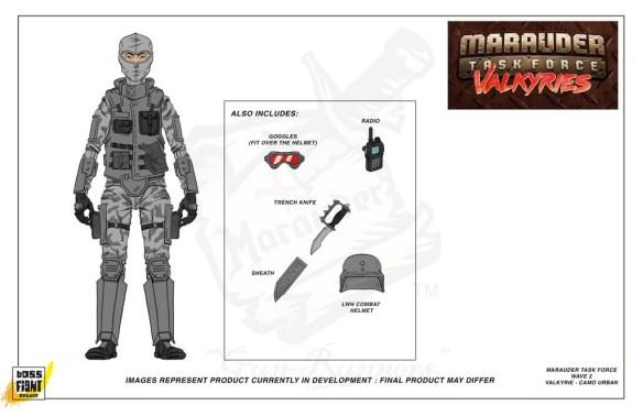 Marauder Task Force Valkyries Urban