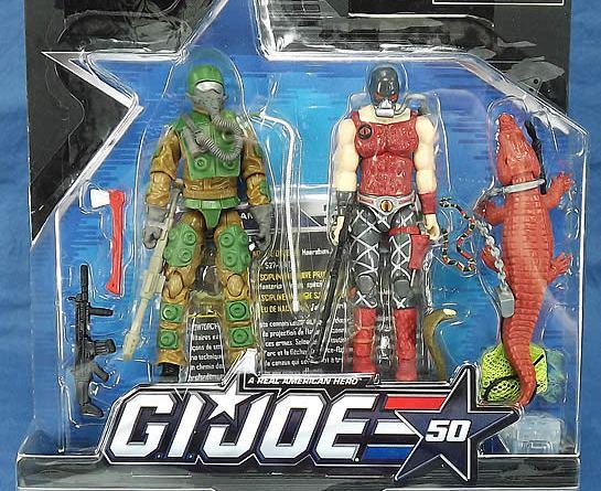 G.I. Joe 50th Swamp Steam two-pack