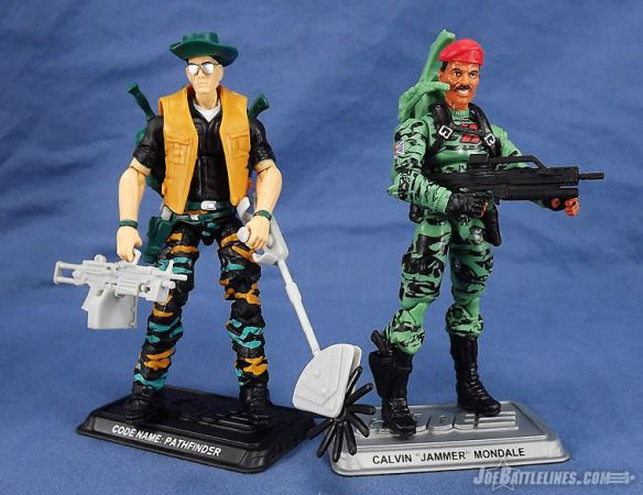 G.I. Joe FSS 4 Review Jammer & Pathfinder