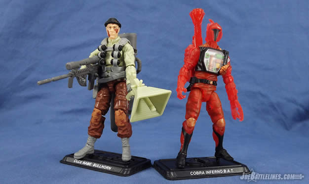 G.I. Joe fss 4 bullhorn inferno bat reviews