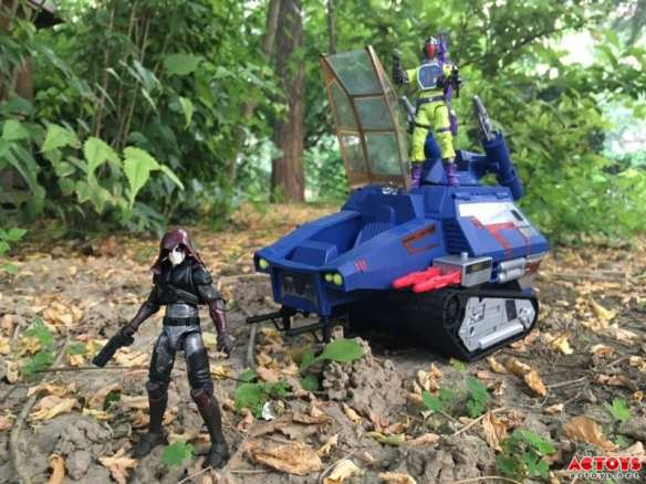 2016 SDCC G.I. Joe vs Transformers Zartan Soundwave