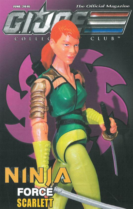 G.I. Joe Ninja Force Scarlett cover