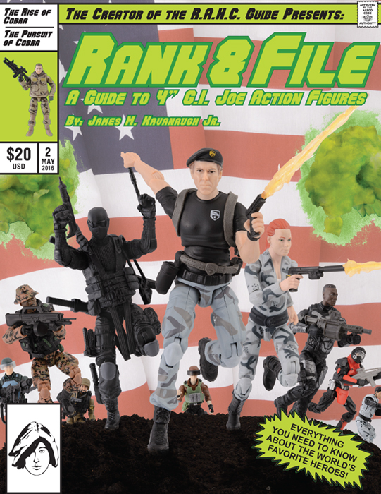 G.I. Joe Rank & File vol 2 cover