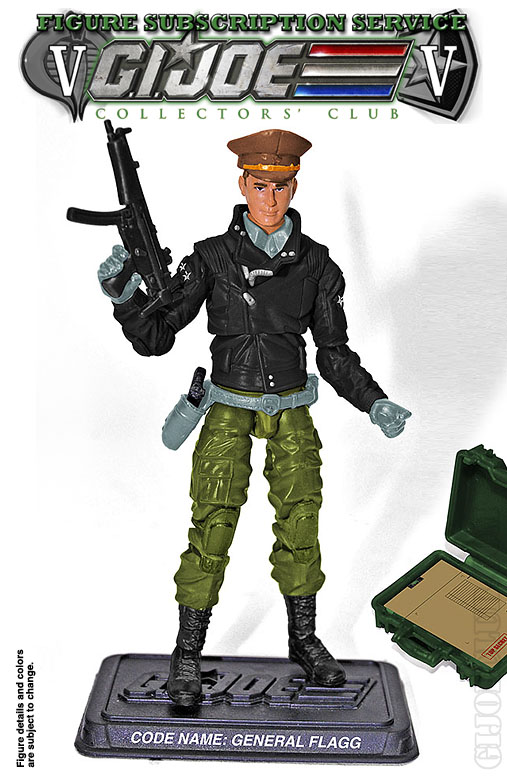 G.I. Joe FSS 5 General Flagg