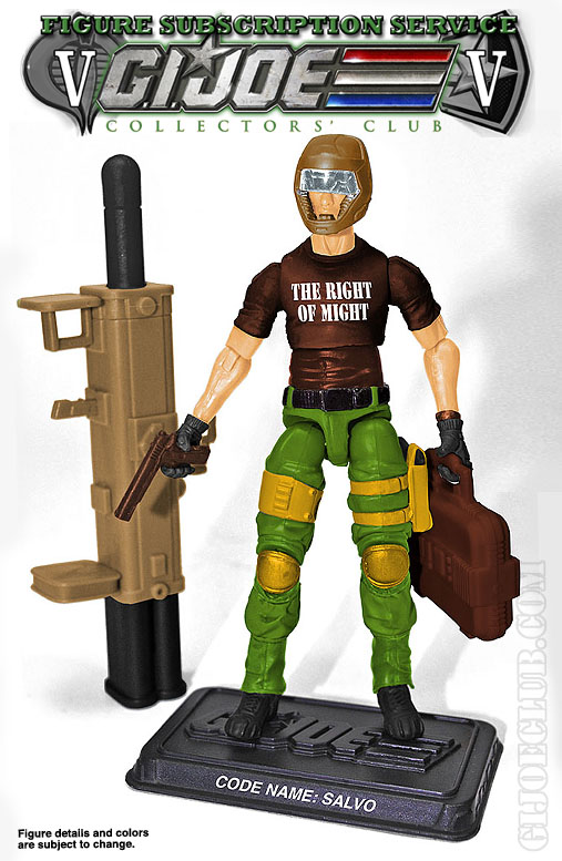 G.I. Joe FSS 5 Salvo