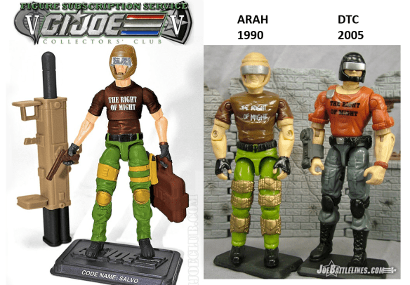 G.i. Joe fss 5 salvo comparison