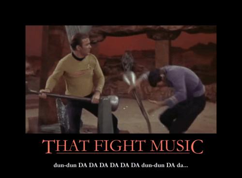 Star Trek fight music