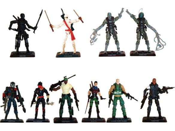2016 G.I. Joe two-packs