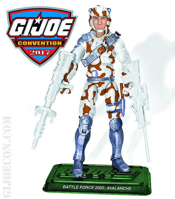 Joe Con 2017 Battle Force 2000 Avalanche