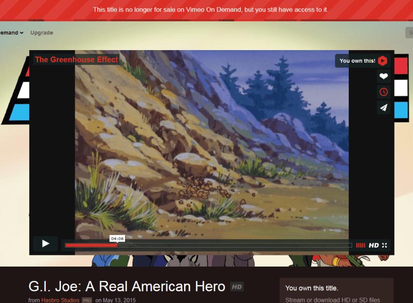 g.i. joe gone vimeo
