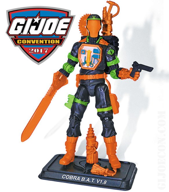 gi joe con 2017 Cobra BAT v1.8
