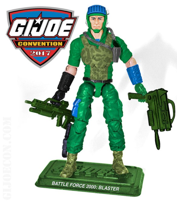 G.I. Joe Con 2017 Battle Force 2000 Blaster