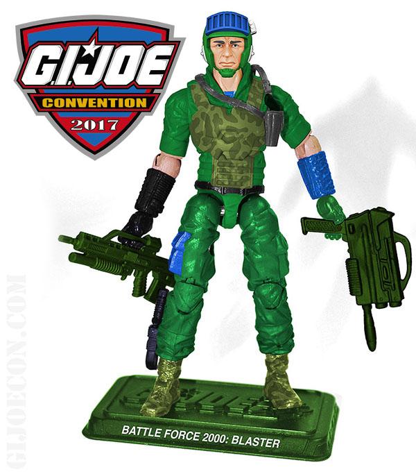 G.I. Joe Con 2017 Battle Force 2000 Blaster