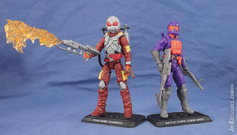 G.I. Joe FSS 5 Charbroil Battle Corps Viper