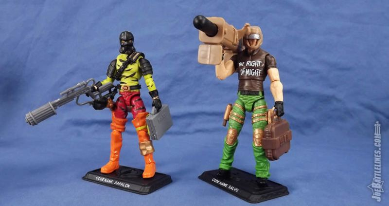 G.I. Joe FSS 5 Shipment 3 darklon salvo