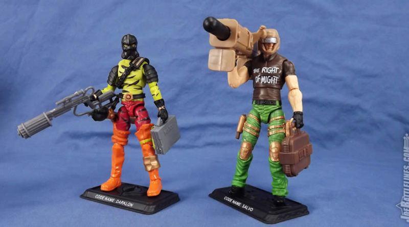 G.I. Joe FSS 5 Shipment 3 darklon salvo