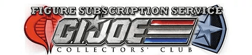G.I. Joe Collector's Club Figure Subscription service FSS 1.0