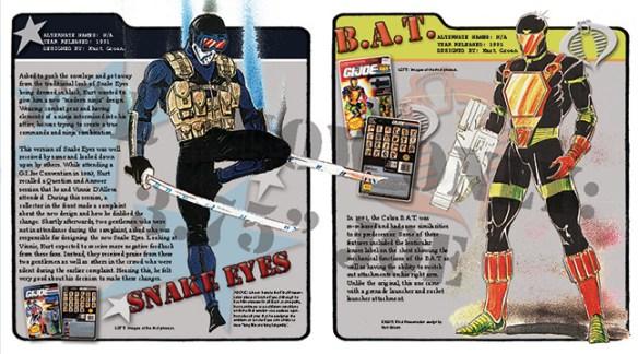 """3.75"""" Joe Snake Eyes BAT"""