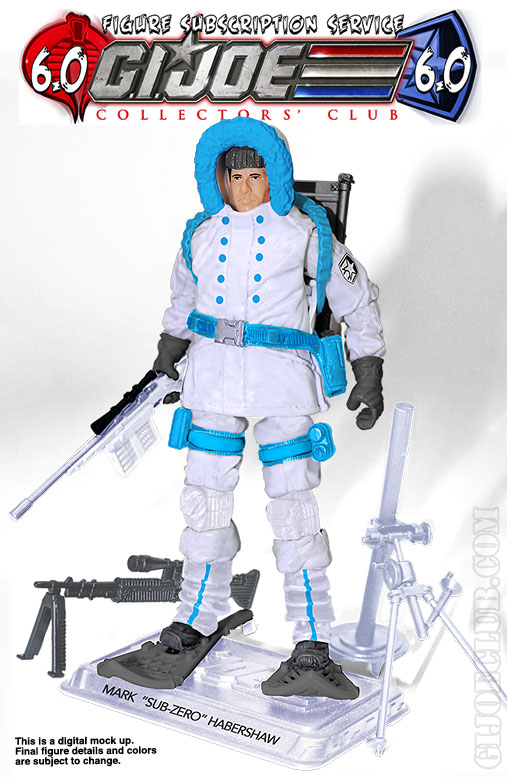 G.I. Joe FSS 6 Sub-zero