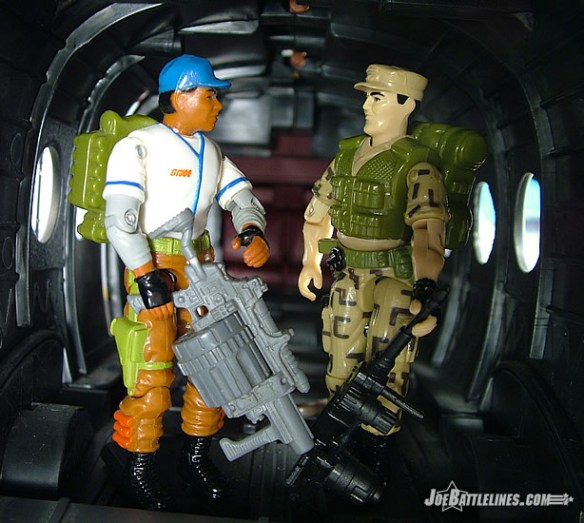 G.I. Joe Repeater and Hardball