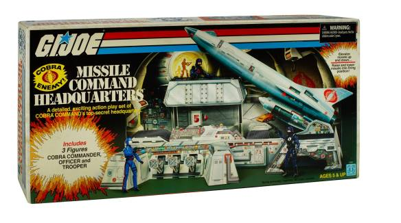 Cobra Missile Command Headquarters box front