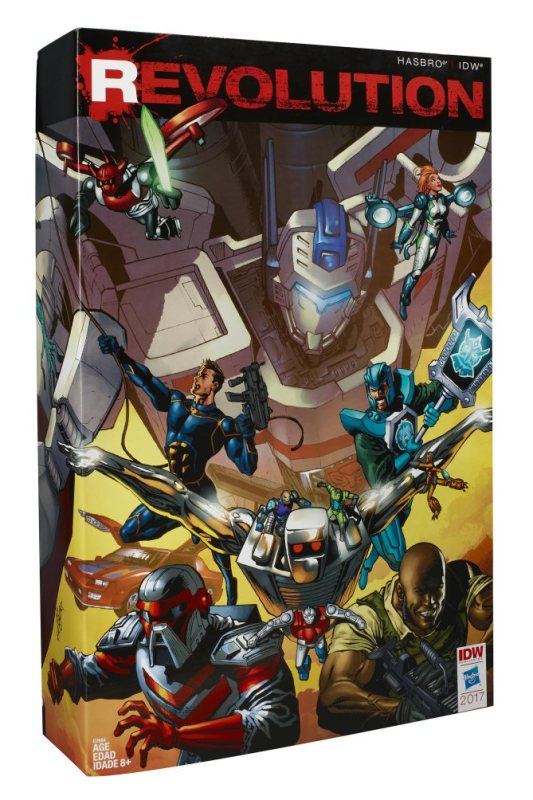 Hasbro IDW Revolution Comic Crossover Mega-Set