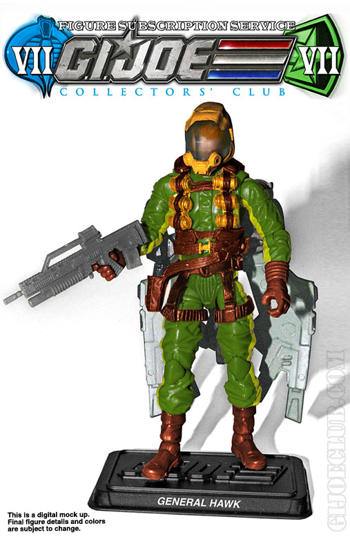 G.I. Joe Collector's Club FSS 7 General Hawk
