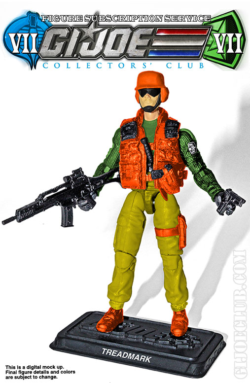 G.I. Joe Collector's Club FSS 7 Treadmark Skidmark