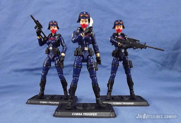 G.I. Joe Collector's Club Female Cobra Troopers