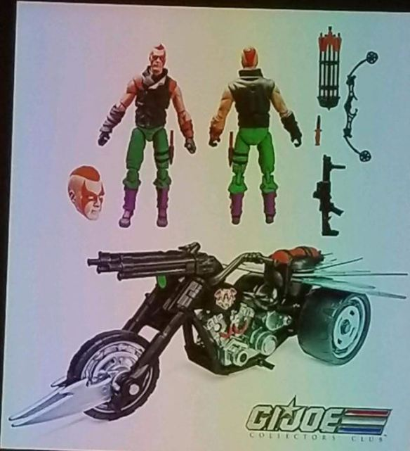 GIJoeCon 2018 ninja force zartan doom cycle