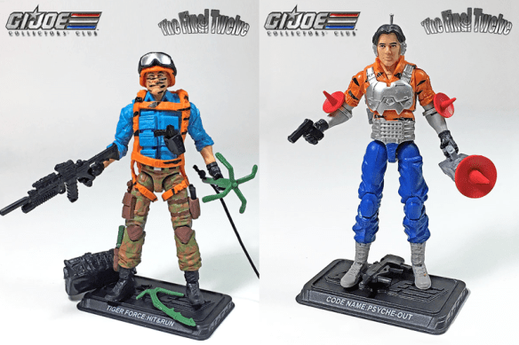 GI Joe Collector's Club Final Twelve Tiger Force Hit & Run Psyche-Out