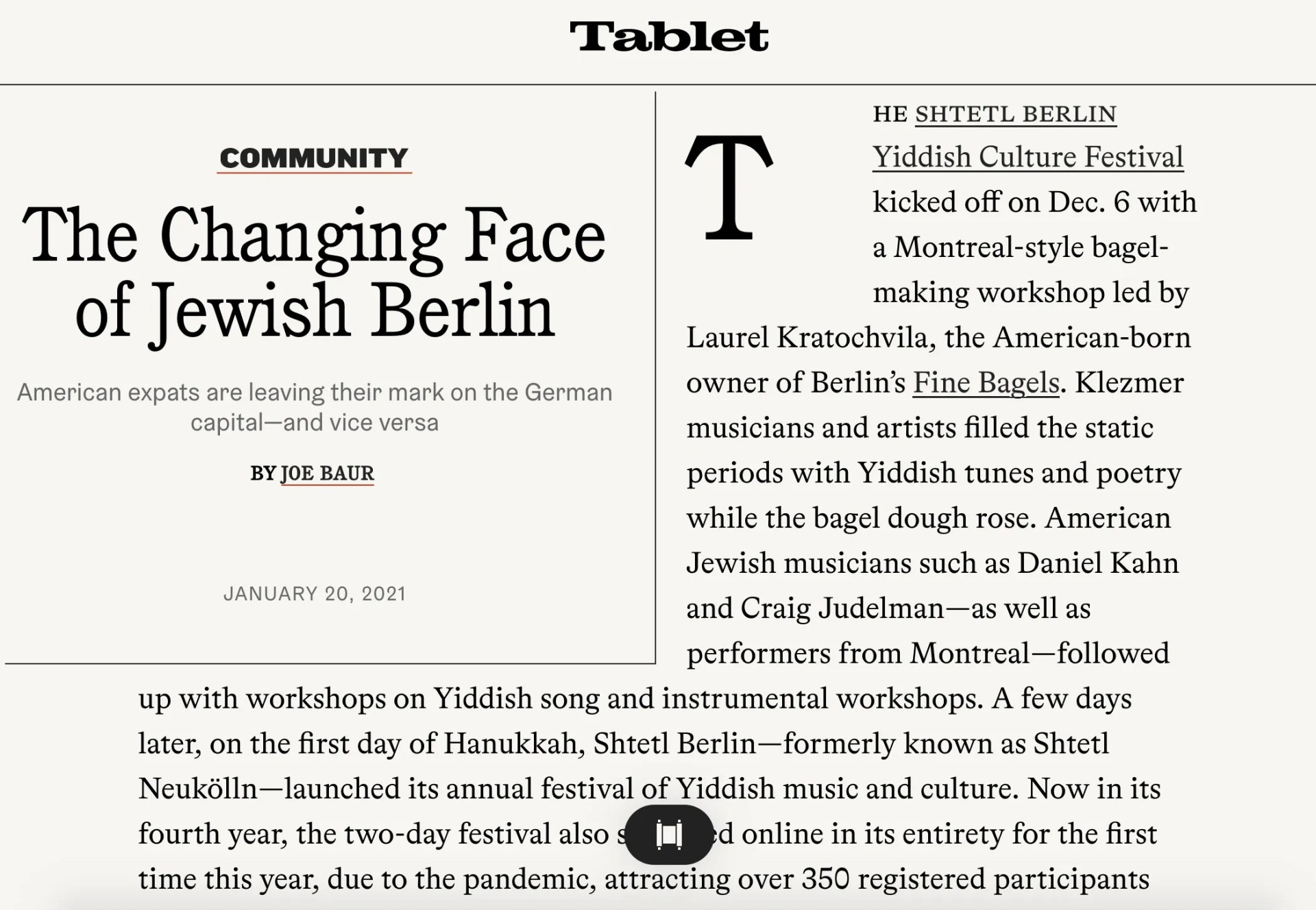 The Changing Face of Jewish Berlin – Tablet