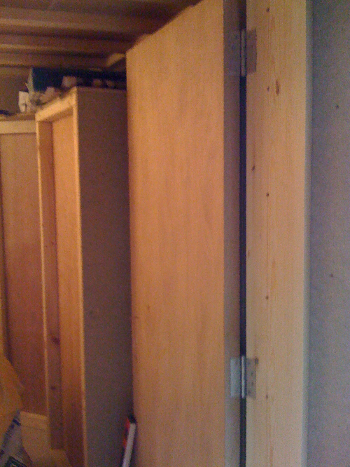 Think this looks easy? YOU try hanging a door with 1mm accuracy!