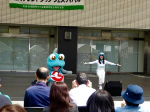 we saw lots of characters like this one while in Japan - very entertaining and fun to watch