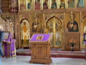 Altar at St. Nikolaus Church