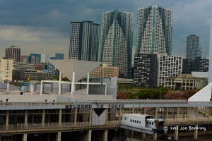 Welcome to Tokyo: A view from the ship