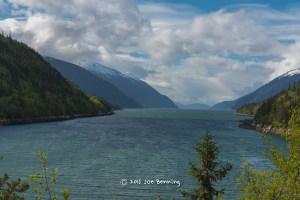Fjord by Skagway Alaska
