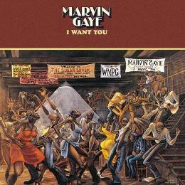 Marvin Gaye's album featuring the art of Ernie Barnes