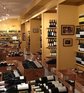 Decker's boasts wall-to-wall Old World wine