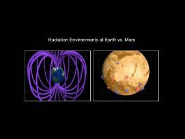 Earth vs. Mars magnetic comparison