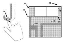 Google Glove patent figure