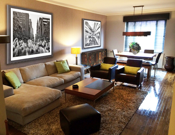 Interior Design New York NYC Joe Cangelosi UES Pied a Terre Living Room