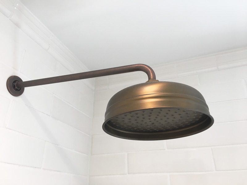 Interior Design New York Joe Cangelosi Bathroom Design Bronze Shower Head