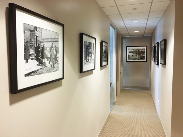 New York Joe Cangelosi NYC Office Design Hallway Photos
