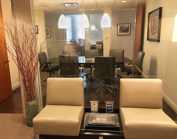 New York Joe Cangelosi NYC Office Design Lobby and Conference Room