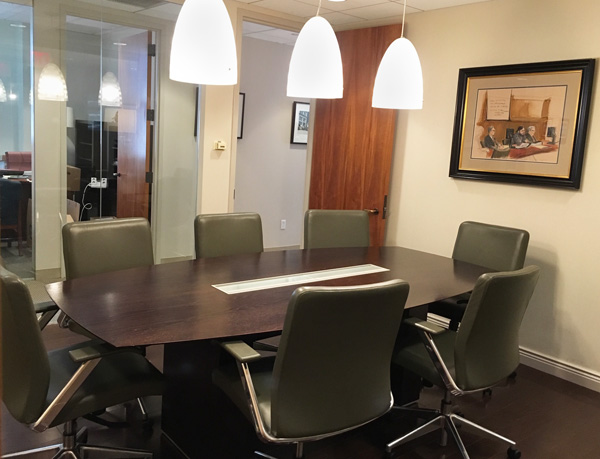 New York Joe Cangelosi NYC Office Design Conference Room