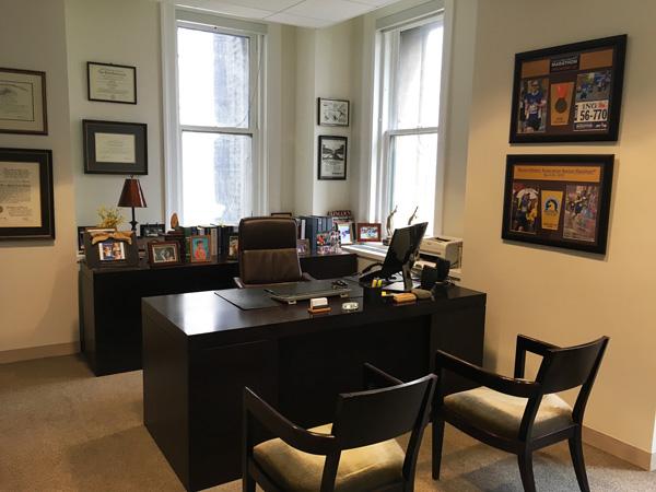 New York Joe Cangelosi NYC Office Design Partner Desk