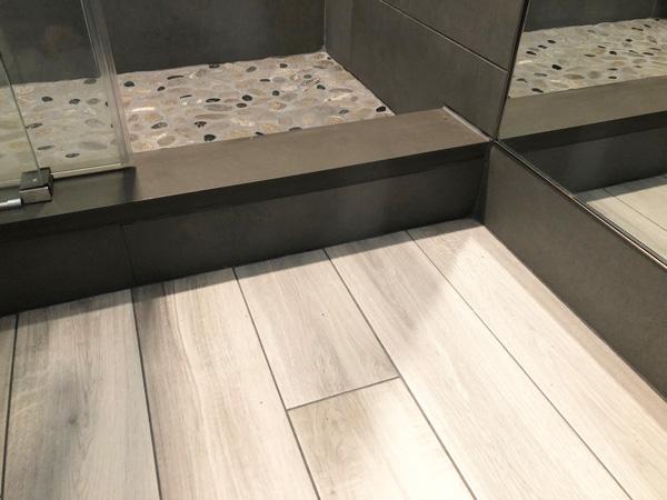 Interior Design New York Joe Cangelosi NYC Sexy Masculine Bathroom Flooring