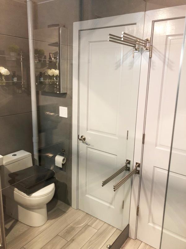 Interior Design New York Joe Cangelosi NYC Sexy Masculine Bathroom